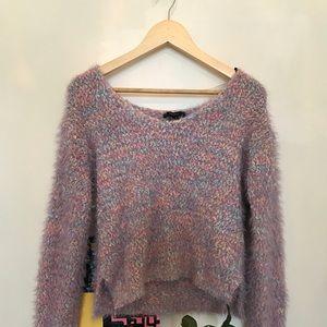 Fuzzy Pastel Sweater